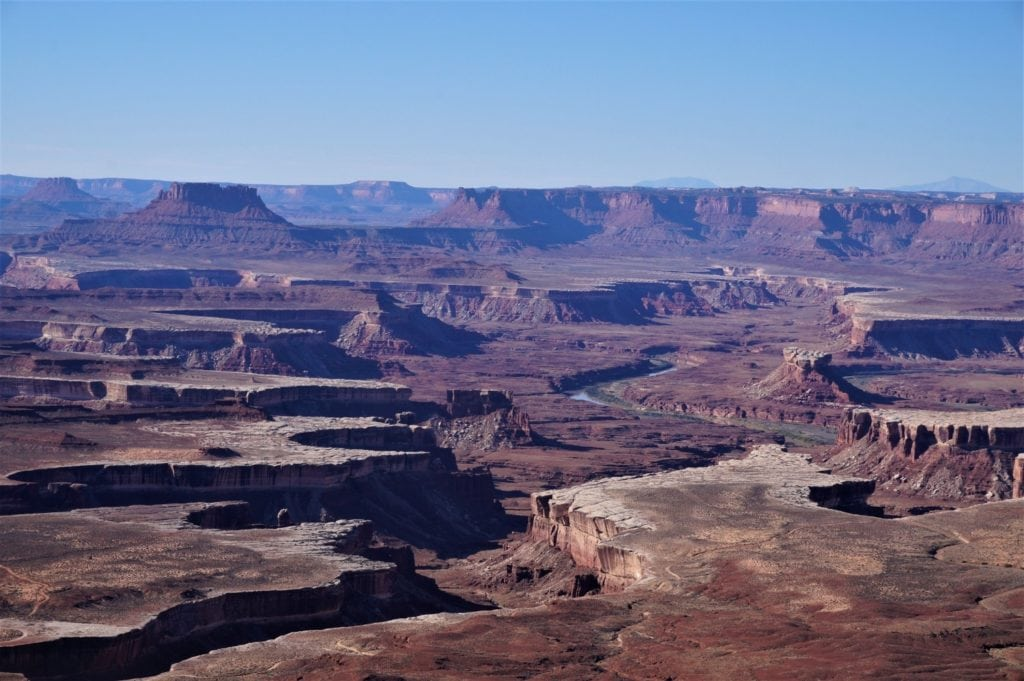 La Green river vue depuis Island in the Sky dans Canyonlands National Park