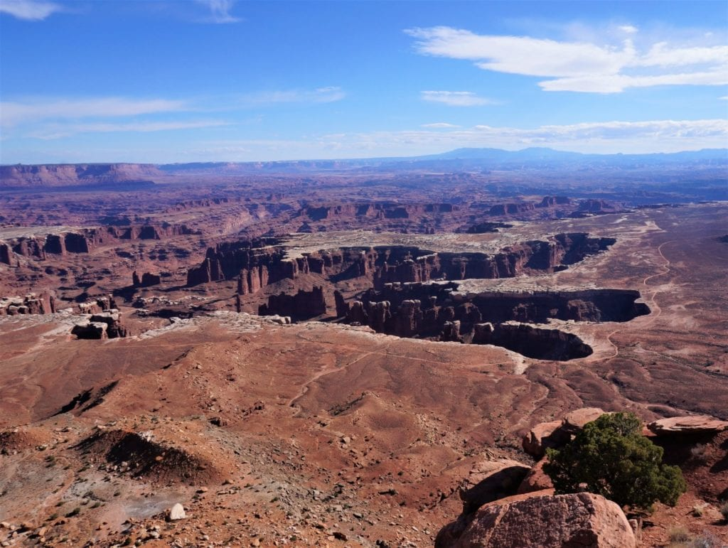 Les paysages accidentés de Canyonlands